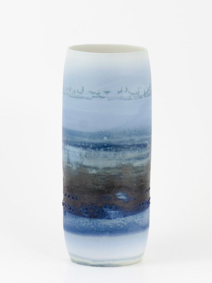 LiesBulteel-Keramiek-Art-Porselein-DiffuseBlue-DB8P